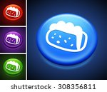 taco sandwich on blue round...   Shutterstock .eps vector #308356811