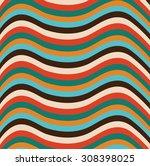 wave pattern | Shutterstock .eps vector #308398025