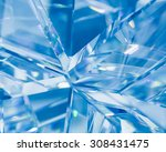 abstract blue background of... | Shutterstock . vector #308431475
