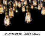 light bulb design | Shutterstock . vector #308543627