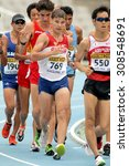 Small photo of BARCELONA - JUNE, 13: Aleksandr Ivanov of Russia during 10000 metres race walk event of of the 20th World Junior Athletics Championships at the Olympic Stadium on July 13, 2012 in Barcelona, Spain