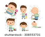 comparison vector set | Shutterstock .eps vector #308553731