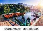 fantastic shtrbske pleso high...   Shutterstock . vector #308583935