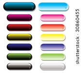 collection of colorful gel... | Shutterstock .eps vector #30860455