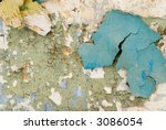 background the old plastered... | Shutterstock . vector #3086054