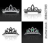 tiara female luxury royal