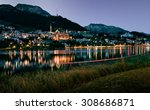 St Moritz At Night