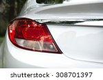 Stock photo car light rear 308701397