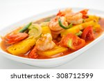 Fried Shrimps With Pineapple I...