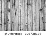 Black And White Old Barn Board...