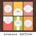 vector illustration of set of... | Shutterstock .eps vector #308755184