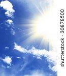 sunny sky   Shutterstock . vector #30878500