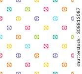 flat icon of money vector icon | Shutterstock .eps vector #308813087