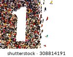people that are winners ... | Shutterstock . vector #308814191