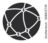 black money network  mlm... | Shutterstock . vector #308815739