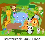 fun jungle animals