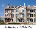 New Condominiums - stock photo