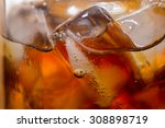 cold sweet drink delicious and... | Shutterstock . vector #308898719