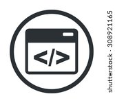 vector illustration of  seo... | Shutterstock .eps vector #308921165
