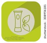 vector cream icon   Shutterstock .eps vector #308956181