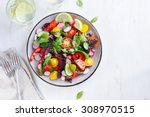 Salad With Fresh Summer...