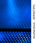 blue metal background with... | Shutterstock . vector #309007391