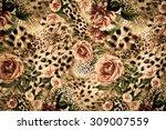 Texture Print Fabric Striped Leopard - Fine Art prints