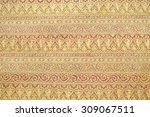 pattern wax background | Shutterstock . vector #309067511