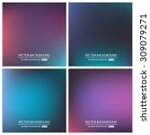 abstract creative concept... | Shutterstock .eps vector #309079271