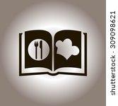cook book | Shutterstock .eps vector #309098621