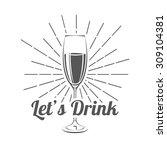 vector illustrations glasses of ...   Shutterstock .eps vector #309104381