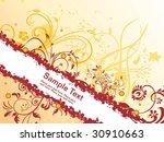 abstract creative design banner ... | Shutterstock .eps vector #30910663