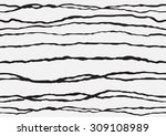 wave seamless ethnic striped... | Shutterstock .eps vector #309108989