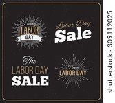 vector illustration labor day a ... | Shutterstock .eps vector #309112025