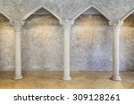Classic Ancient Interior With...