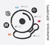 education infographic | Shutterstock .eps vector #309148991