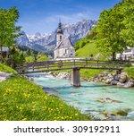 Scenic Mountain Landscape In...