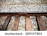 railway track and it detail... | Shutterstock . vector #309197801