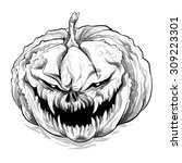 vector illustration.hand... | Shutterstock .eps vector #309223301