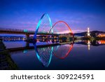 expo bridge in daejeon  south... | Shutterstock . vector #309224591