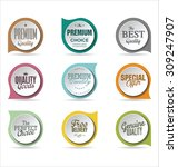 badges collection 3 | Shutterstock .eps vector #309247907