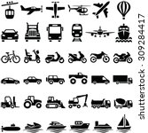 Transport Icons Collection  ...