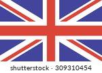 united kingdom flag | Shutterstock .eps vector #309310454