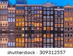 wonderful view on houses of... | Shutterstock . vector #309312557