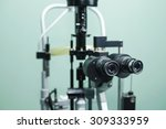 medical optometrist equipment... | Shutterstock . vector #309333959