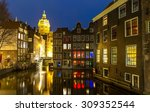Amsterdam Canals And Saint...