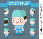 cute character illustration of... | Shutterstock .eps vector #309369695