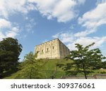 norwich castle in norfolk ...