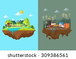 a vector illustration of... | Shutterstock .eps vector #309386561