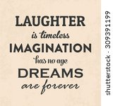inspirational retro typographic ... | Shutterstock .eps vector #309391199